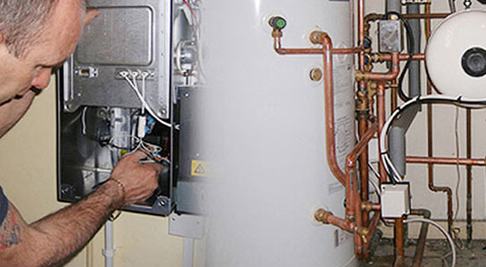 Plumber & heating engineer at work in Southampton, Hampshire