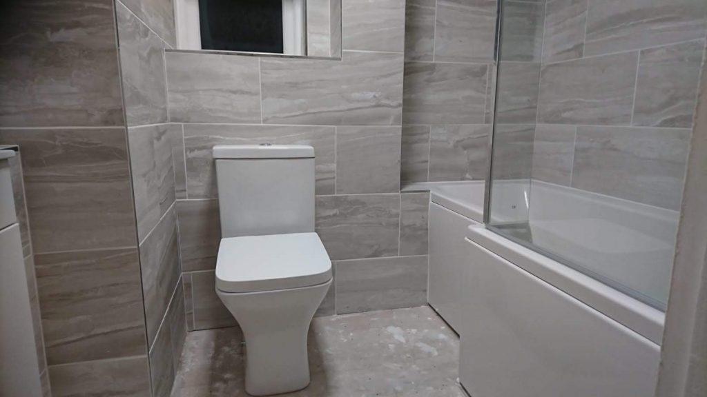 bathroom upgrade southampton by IJB Plumbing and Heating